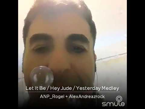 LET IT BE/HEY JUDE - SMULE MEDLEY KARAOKE WITH APN ROGEL