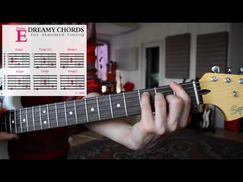 How to play EASY & DREAMY Guitar Chords - SHOEGAZE | DREAM POP | AMBIENT Tutorial - Vol. 2