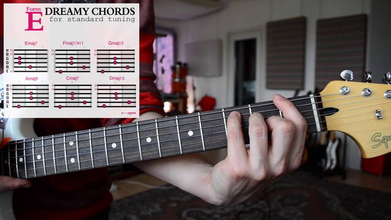 How To Play Easy Dreamy Guitar Chords Shoegaze Dream Pop