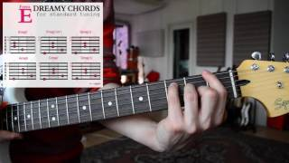 How to play EASY & DREAMY Guitar Chords #2 | SHOEGAZE, DREAM POP, AMBIENT | Tutorial