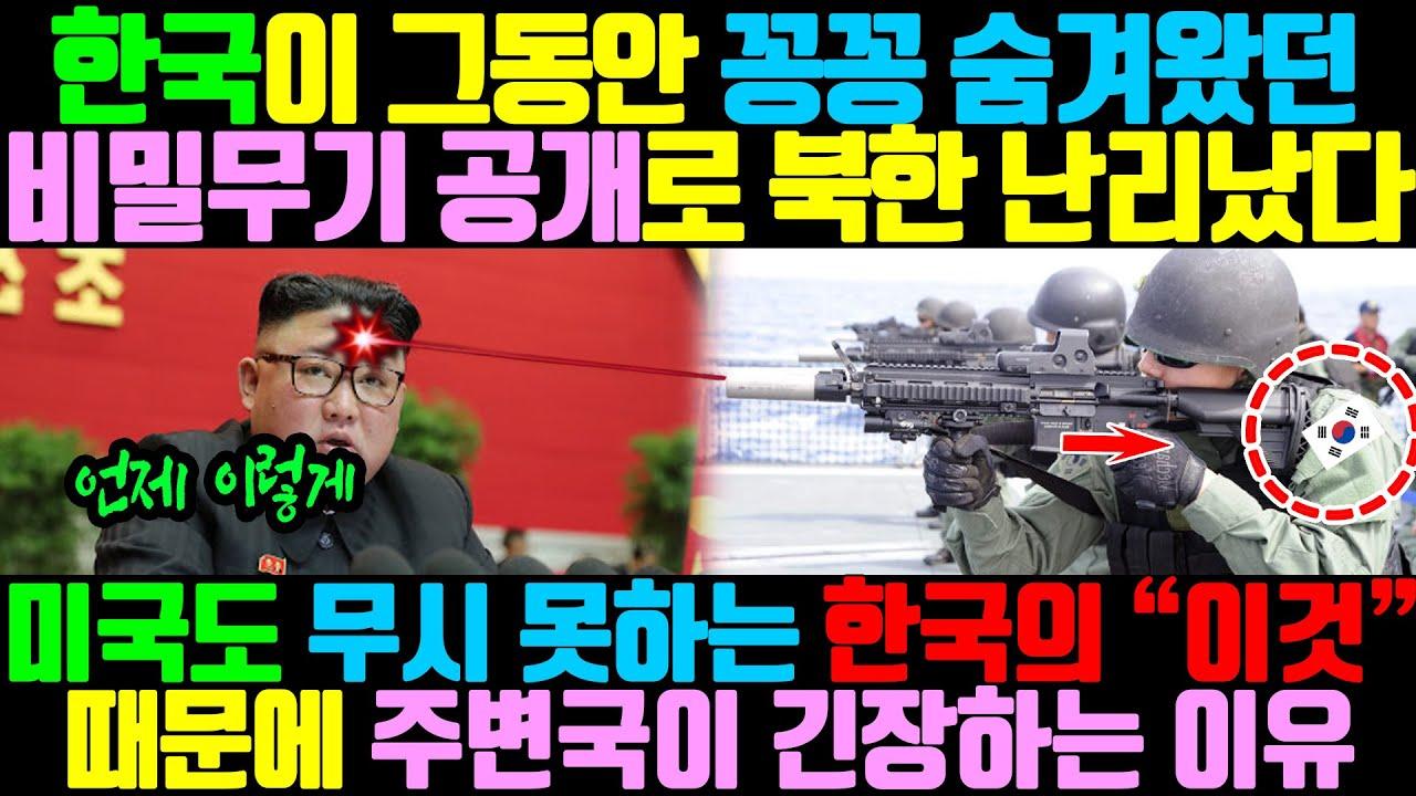 """""""대한민국의 숨겨진 미친 전투력"""" / 미국도 무시 못하는 한국의 """"이것"""" 때문에 주변국이 긴장하는 이유"""