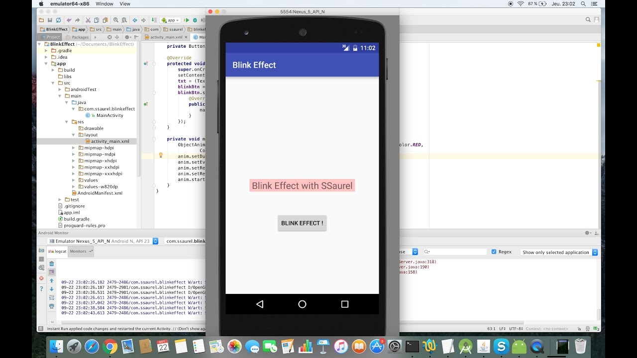 Create a Blink Effect on Android - Sylvain Saurel - Medium