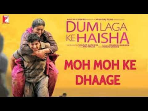 Moh Moh Ke Dhaage (Male) Karaoke with (lyrics below)