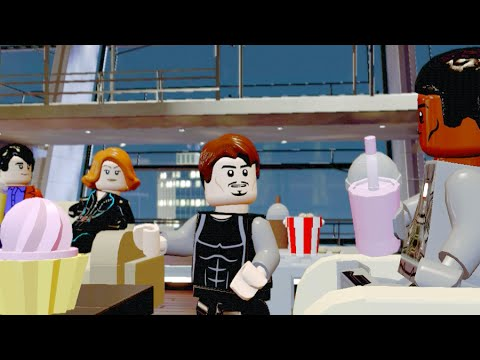 marvel lego tony stark party