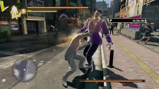 Yakuza 0 - Mr. Shakedown vs Kiryu with style - No damage, Weapons, Counter Hook spam ( Hard)