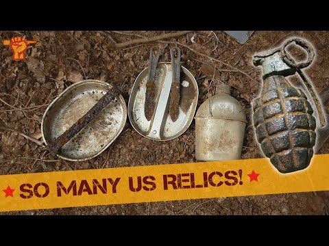 "Metal detecting ""Battle of the Bulge, Rhineland offensive & more"" (26)"