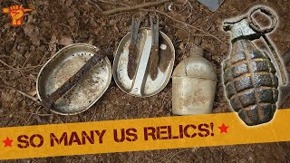 """Metal detecting """"Battle of the Bulge, Rhineland offensive & more"""" (26)"""