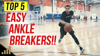 5 Easy Basketball Moves To Shift Defenders and BREAK ANKLES!