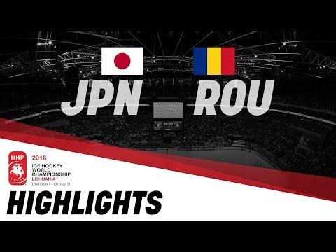 Japan - Romania | Highlights | 2018 IIHF Ice Hockey World Championship Division I Group B