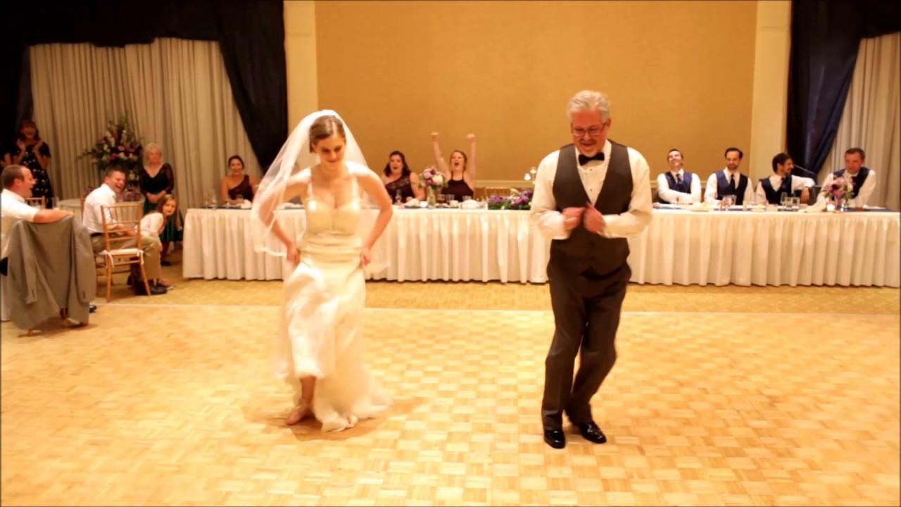 Fun Father Daughter Wedding Dance