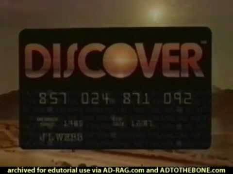 Discover Card commercial, Dawn of Discover, Super Bowl XX 1986