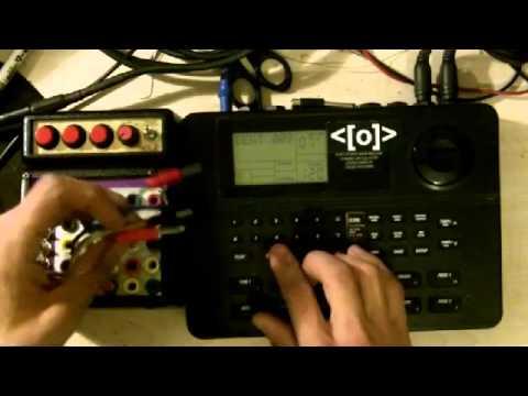 circuit bent alesis sr 16 drum machine by psychiceyeclix youtube rh youtube com