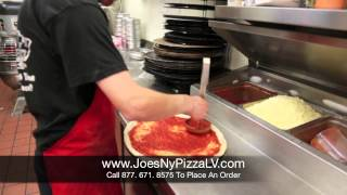 BEST Pizza Delivery in Las Vegas; Joe's New York PIzza By The Slice
