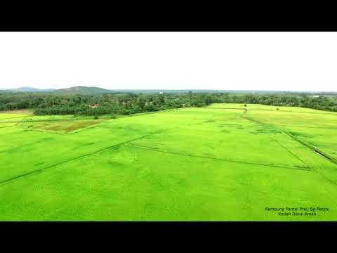Drone View - Kampung Pantai Prai, Sg Petani, Kedah