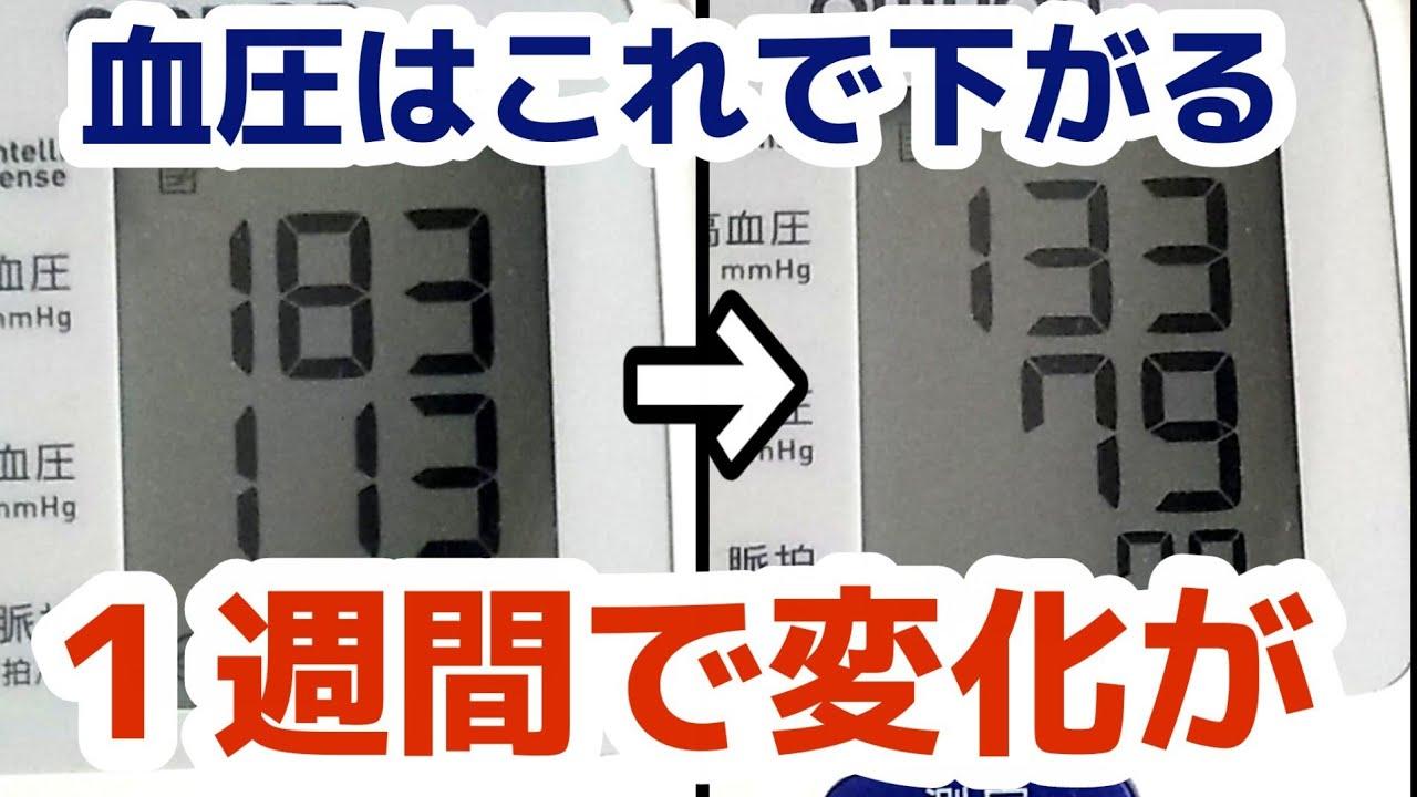 血圧 下げる 運動