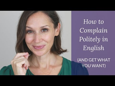Easy 5-Step Strategy to Make a Complaint in English