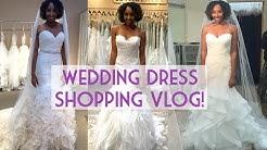 Wedding Dress Shopping VLOG! | BiancaReneeToday