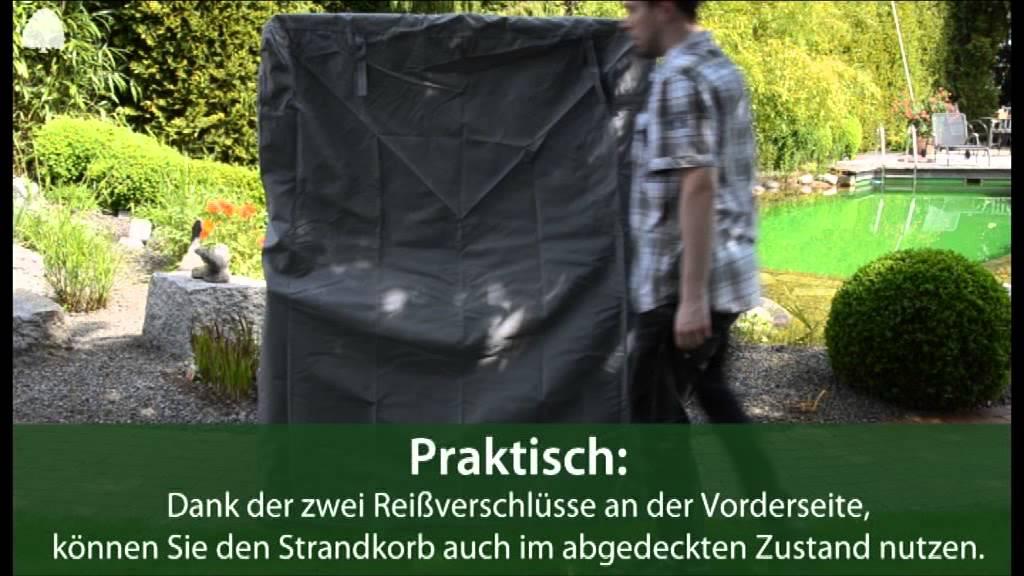 Premium Schutzhülle für Strandkörbe - Gartenmöbel Lünse - YouTube