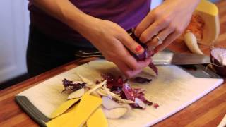 How To Make A Roasted Root Vegetable Salad : Gourmet Vegetable Recipes