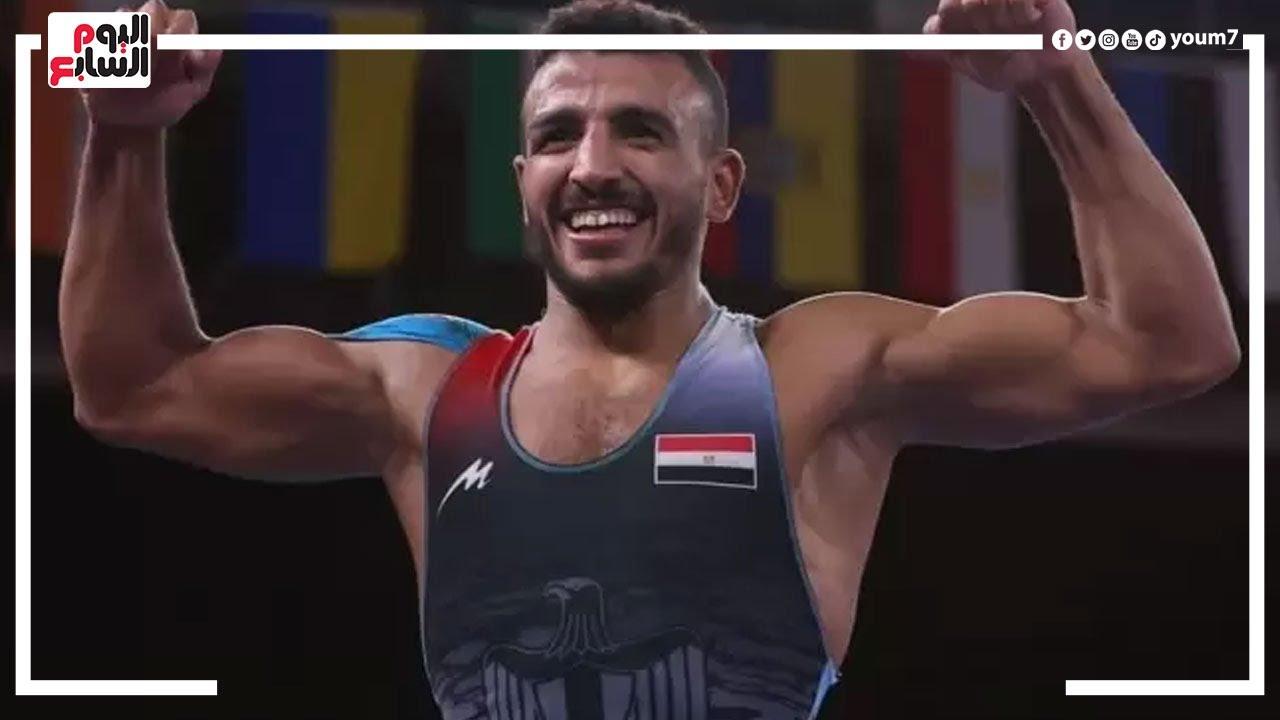 منزل البطل المصرى كيشو بعد حصوله على برونزية المصارعة الرومانية بأولمبياد طوكيو  - نشر قبل 17 ساعة