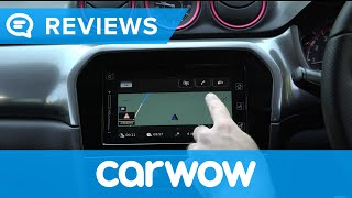 Suzuki Vitara SUV 2018 infotainment and interior review | Mat Watson Reviews