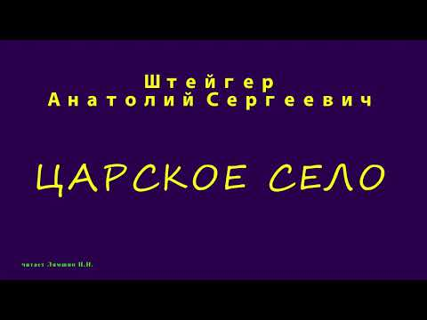 Штейгер А.С., ЦАРСКОЕ СЕЛО