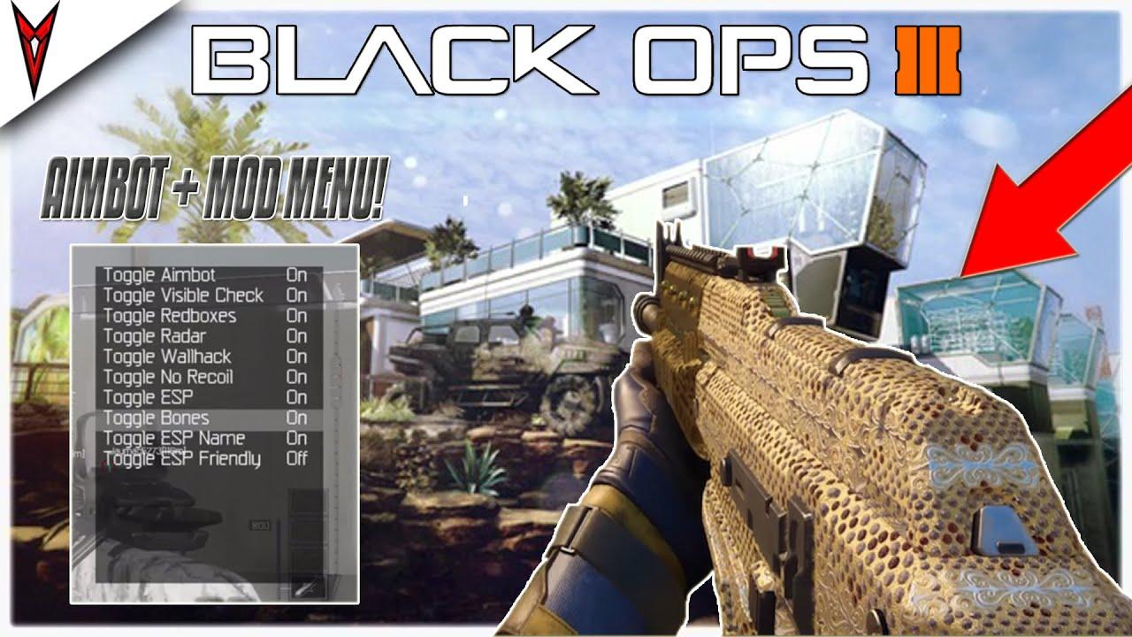 BLACK OPS 3 AIMBOT + MOD MENU GAMEPLAY   NON-HOST BO3 MODS ...Video Games Xbox 360 Bo3