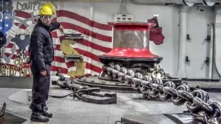 Anchor Room Actions: US Navy Wasp-Class Amphibious Assault Ship