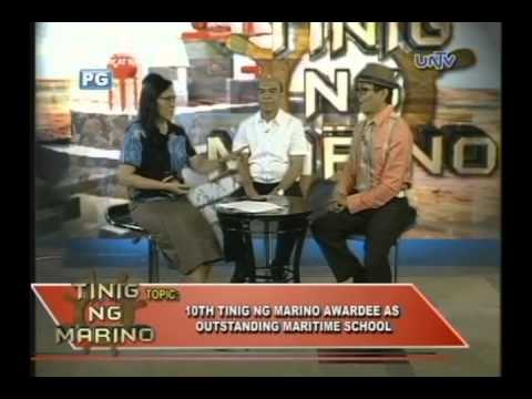 Tinig ng Marino Awardee  for Outstanding Maritime Schools