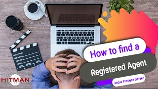 How to find Registered Agent and a Process Server - Video for Pro Se Litigants