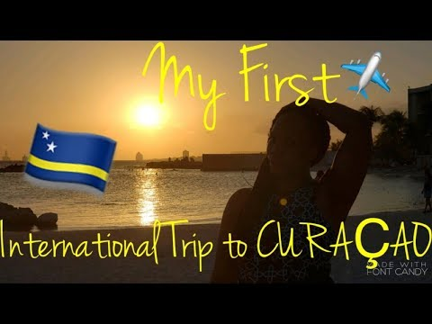 MY FIRST INTERNATIONAL TRIP TO CURACAO|BLACK TRAVEL VLOG 2018