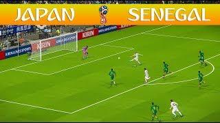 Japan vs Senegal - FIFA World Cup - PES 2018