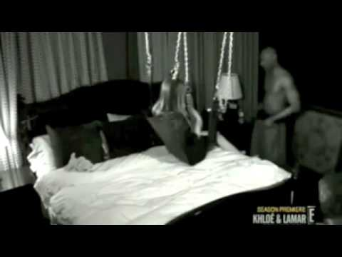 Khloe Kardashians Sex Swing Video Khloe Lamar