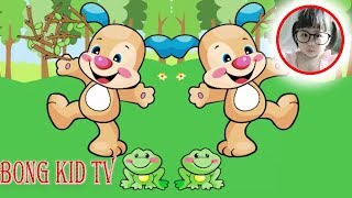 Laugh and Learn - One Two Buckle My Shoe Kids Song - Nursery Rhymes & Baby Songs with BongKidTV