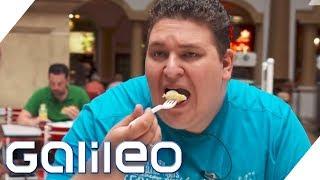 Esst ihr nur Fast Food? 10 Fragen an Übergewichtige | Galileo | ProSieben