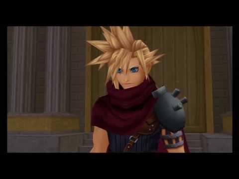 Sora vs Cloud - Kingdom Hearts 1.5 HD