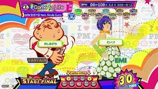 【pop'n music】 Come to Life [EX] PERFECT (Hand Shot)