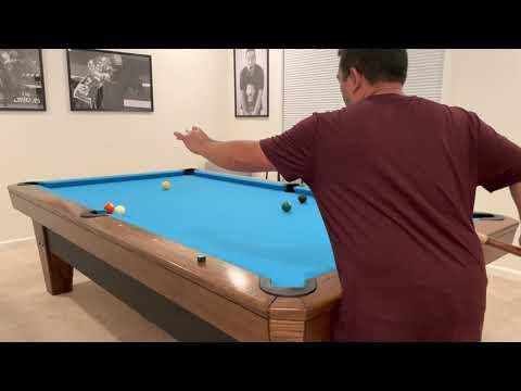 Diamond 9' Pro-Am Pool Table – #RO161