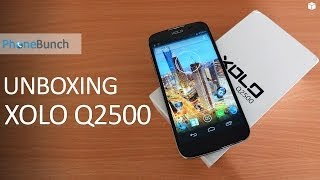 XOLO Q2500 Unboxing and Hands-on Review