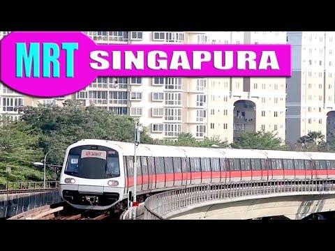 MRT - SINGAPURA - pada jam sibuk