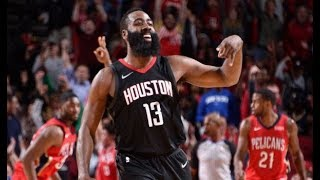 James Harden Dishes 17 Assists vs. the Pelicans   December 11, 2017