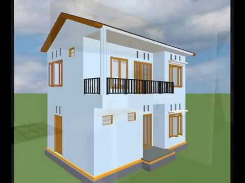Desain Rumah 2 Lantai 3d Peccy Youtube