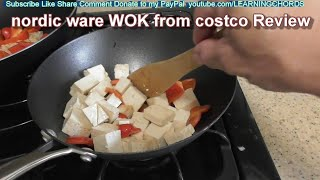 """NORDIC WARE 10"""" Chinese Wok from COSTCO #1415793 REVIEW"""
