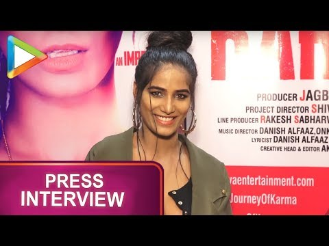 WATCH: Poonam Pandey talks about her film 'The Journey Of Karma' | Shakti Kapoor