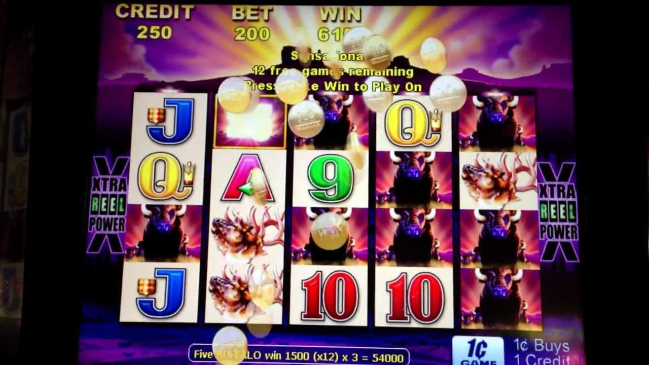 Hawaiian volcano slot machine