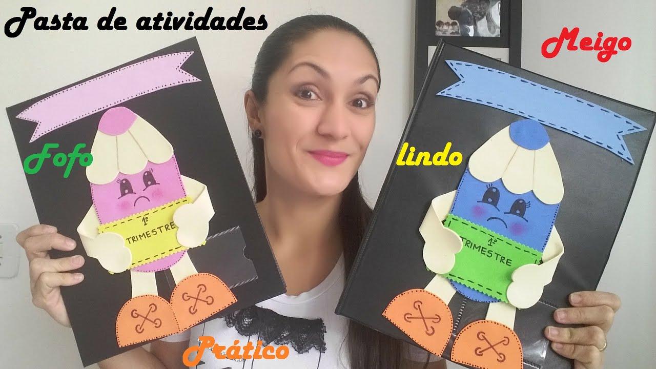Foto De Capa Para Facebook Feminino Evangelico: Dica Para Decorar Pasta De Atividades.