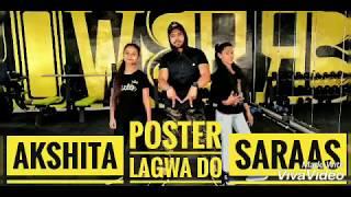 Poster lagwa do |Luka chupi | kartik | krtiti , mika singh |Dance fitness Choreography by Moin Khan