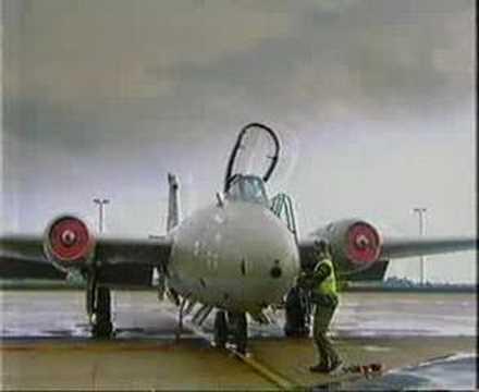 RAF Canberra History