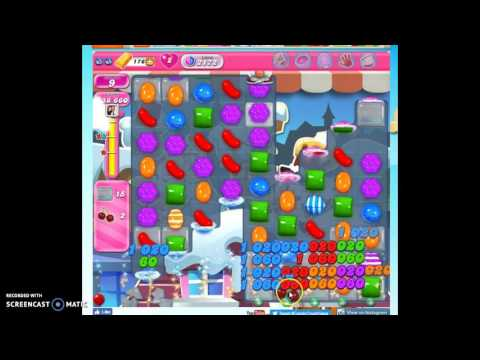 Candy Crush Level 2172 help w/audio tips, hints, tricks