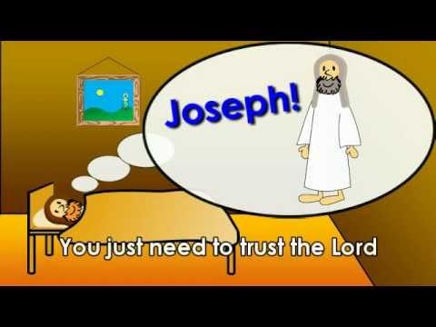 """Joseph Call Him Jesus"" - Children's Christmas Song"